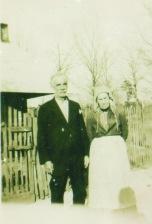 Monroe Hallford and Ellen Mathews
